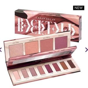 Backtalk Urban Decay Eye & Face Palette